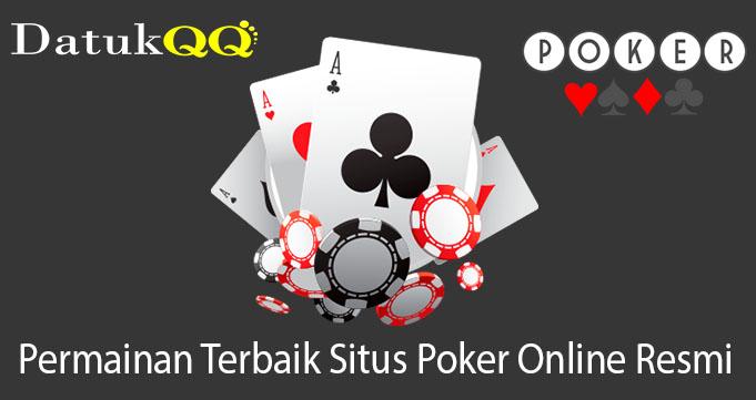 Permainan Terbaik Situs Poker Online Resmi